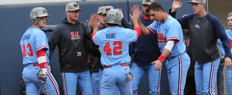 Diamond Rebels win game three, 9-6, and take series from Missouri