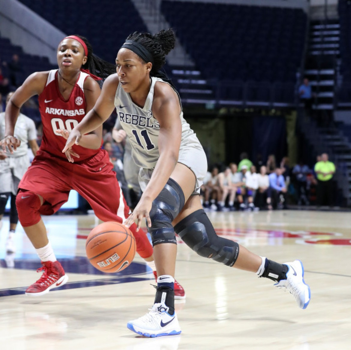 Shequila Joseph notches double-double to lead Ole Miss past Arkansas, 73-64