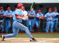 Ole Miss center fielder J. B. Woodman earns All-American accolades